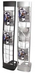 Trade Show Display Literature Rack