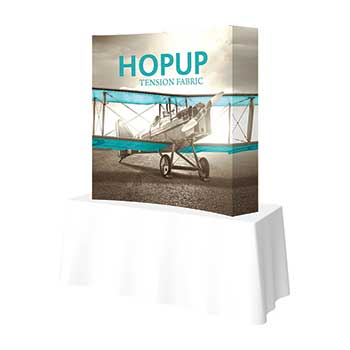 Hop Up Fabric Tension Fabric Displays