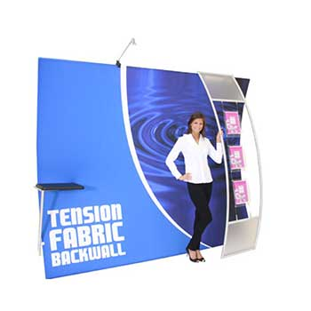 Formulate Tension Fabric Displays